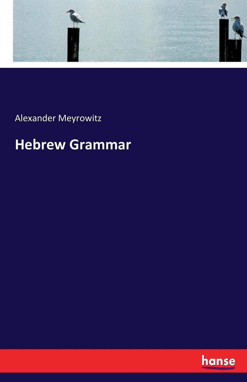 Alexander Meyrowitz Hebrew Grammar schoenberg irene mauer jay focus on grammar 3ed 1 sb audio cdr