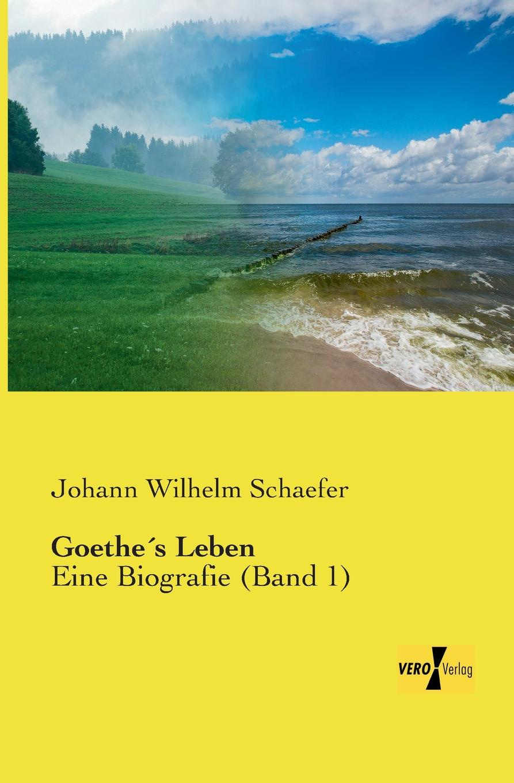 Johann Wilhelm Schaefer Goethes Leben