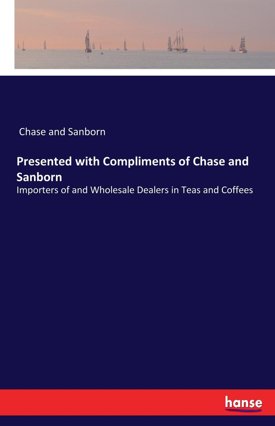 Chase and Sanborn Presented with Compliments of Chase and Sanborn teemzone wholesale