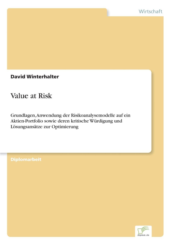цена на David Winterhalter Value at Risk