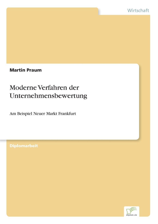 Martin Praum Moderne Verfahren der Unternehmensbewertung andrea gloger size effekt am neuen markt