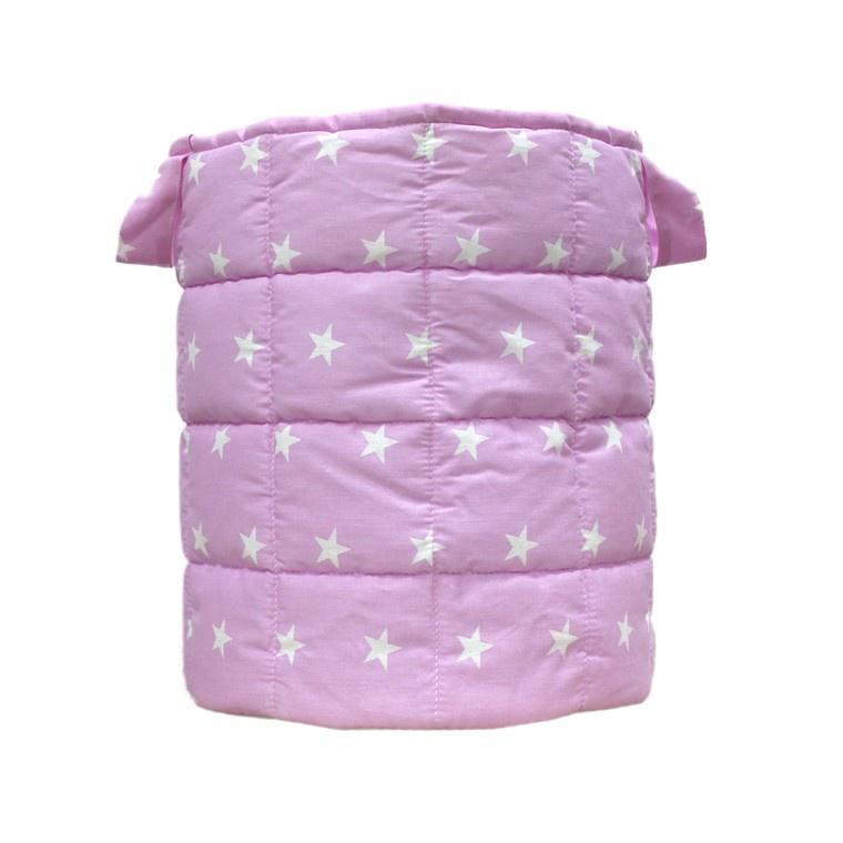 Корзина для игрушек Woodlines Большая, розовый