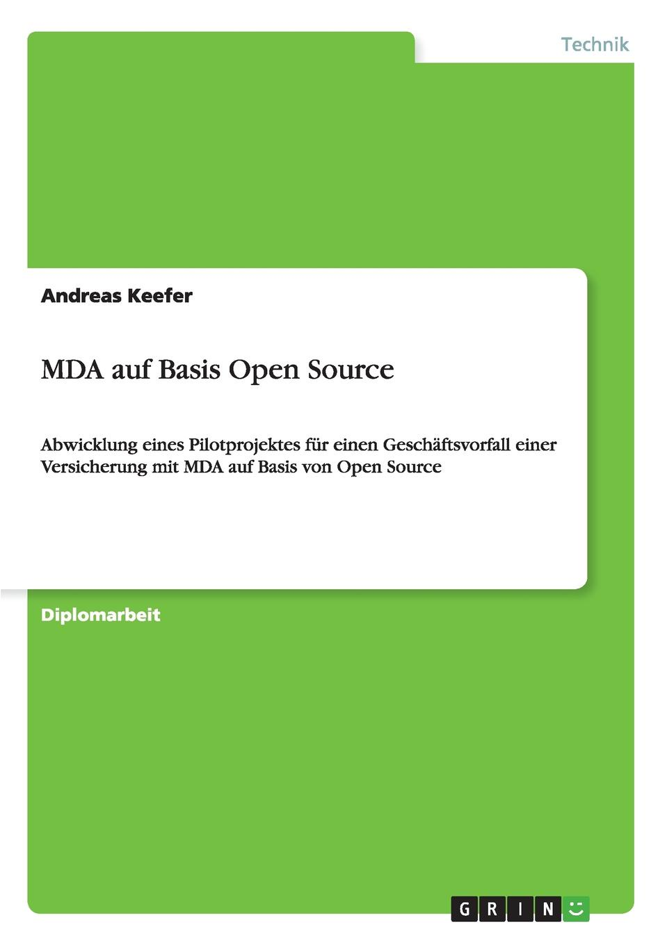 Andreas Keefer MDA auf Basis Open Source lacywear s 28 mda
