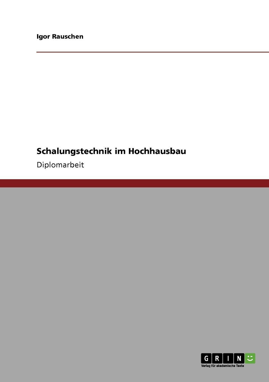 Igor Rauschen Schalungstechnik im Hochhausbau hermann von staff der befreiungs krieg der katalonier in den jahren 1808 bis 1814 t 2