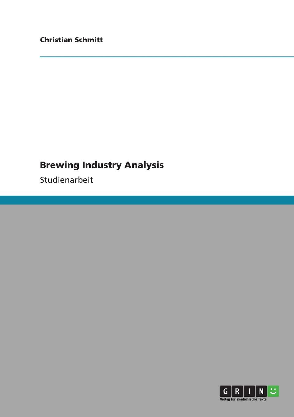 Christian Schmitt Brewing Industry Analysis halil kiymaz market microstructure in emerging and developed markets price discovery information flows and transaction costs