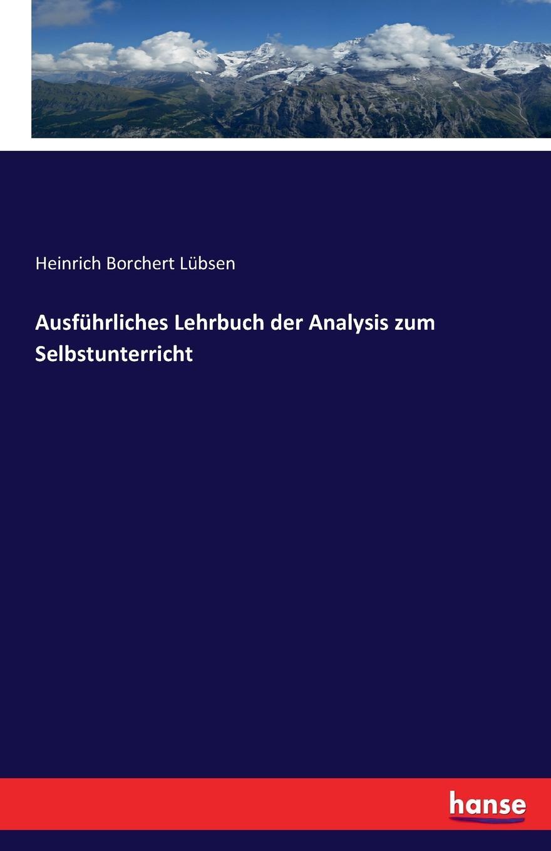 Heinrich Borchert Lübsen Ausfuhrliches Lehrbuch der Analysis zum Selbstunterricht pingpong neu 1 2 cds zum lehrbuch