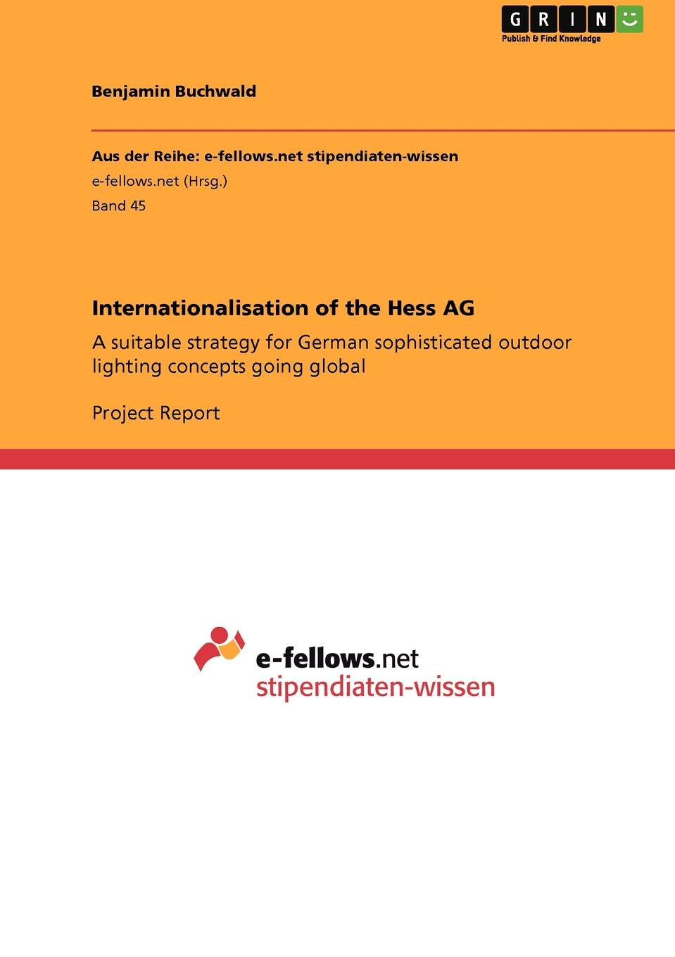 Benjamin Buchwald Internationalisation of the Hess AG jason hess k w kirkland investigation of davis swamp