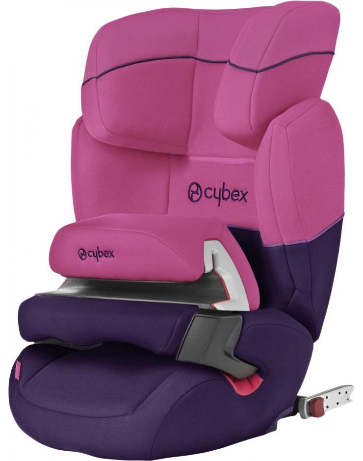 Автокресло CBX Aura Fix розовый, фиолетовый