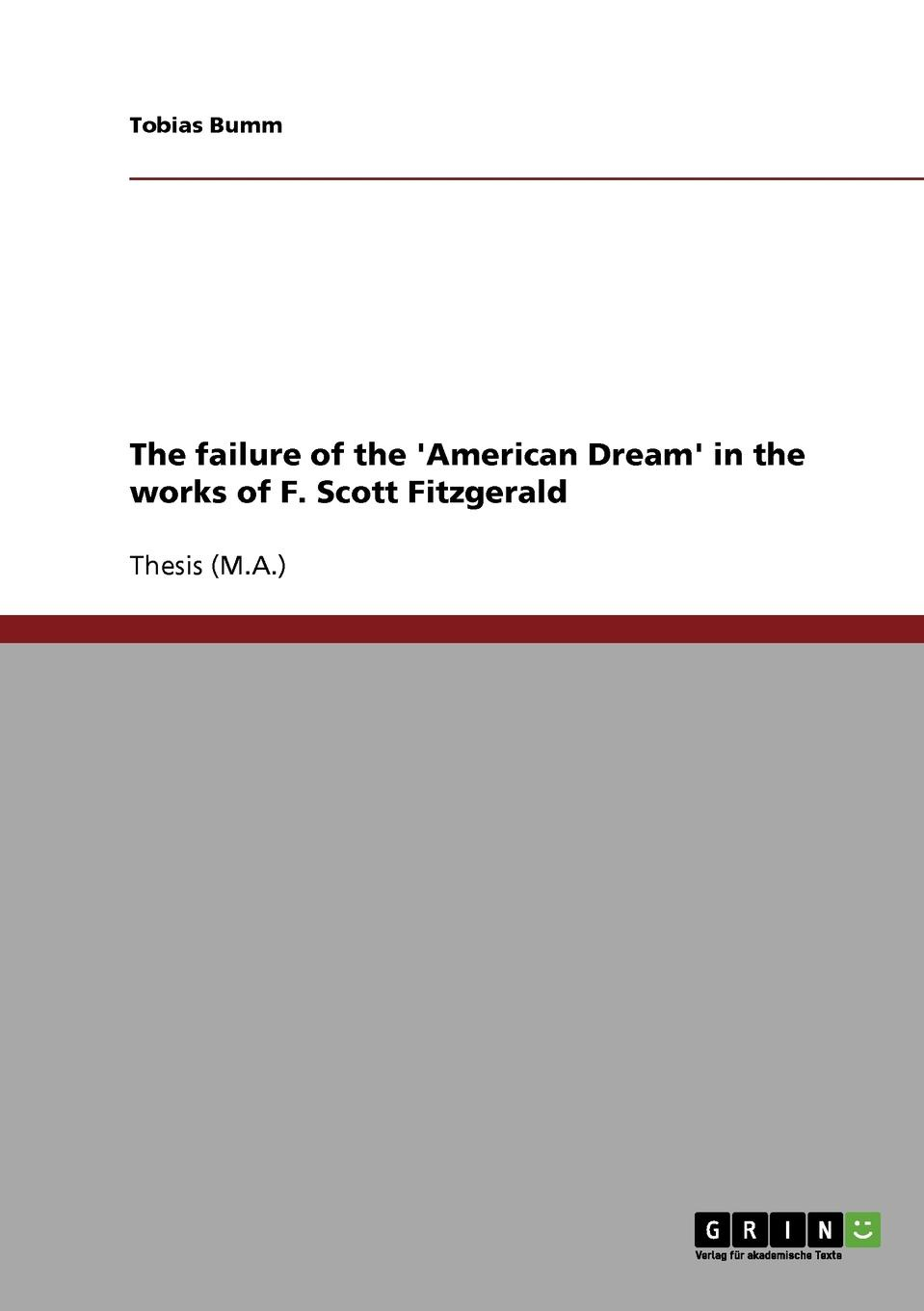Tobias Bumm The failure of the .American Dream. in the works of F. Scott Fitzgerald leah dennison do i look funny in this an investigation into the perception and representation of female comedians on the stand up circuit and their audiences