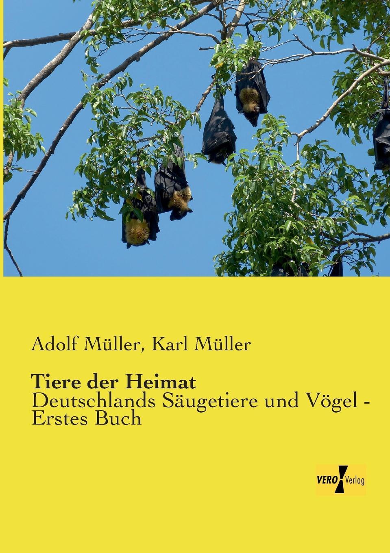 Adolf Muller, Karl Muller Tiere Der Heimat недорого