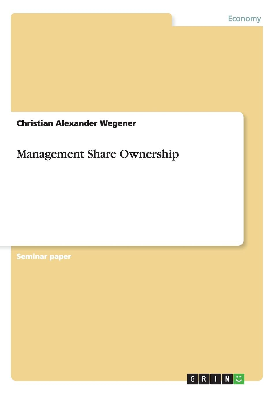 Christian Alexander Wegener Management Share Ownership maryanne bennie paper flow 28 day challenge