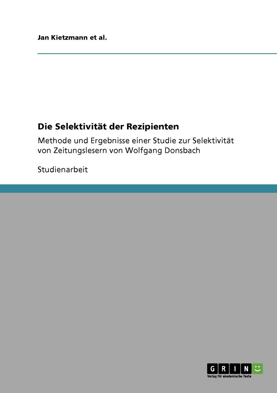 Jan Kietzmann et al. Die Selektivitat der Rezipienten kathrin niederdorfer product placement ausgewahlte studien uber die wirkung auf den rezipienten