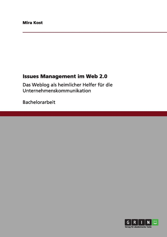 Mira Kost Issues Management im Web 2.0 library weblogs