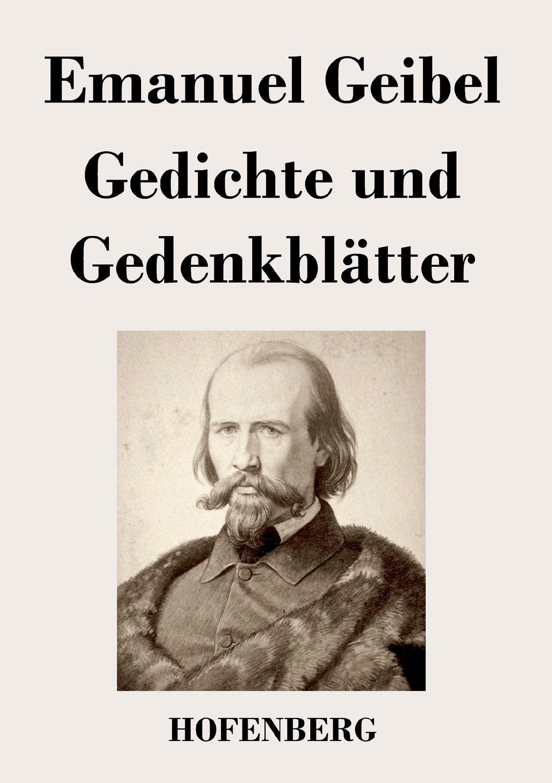 Emanuel Geibel Gedichte und Gedenkblatter a geibel gavotte impromptu