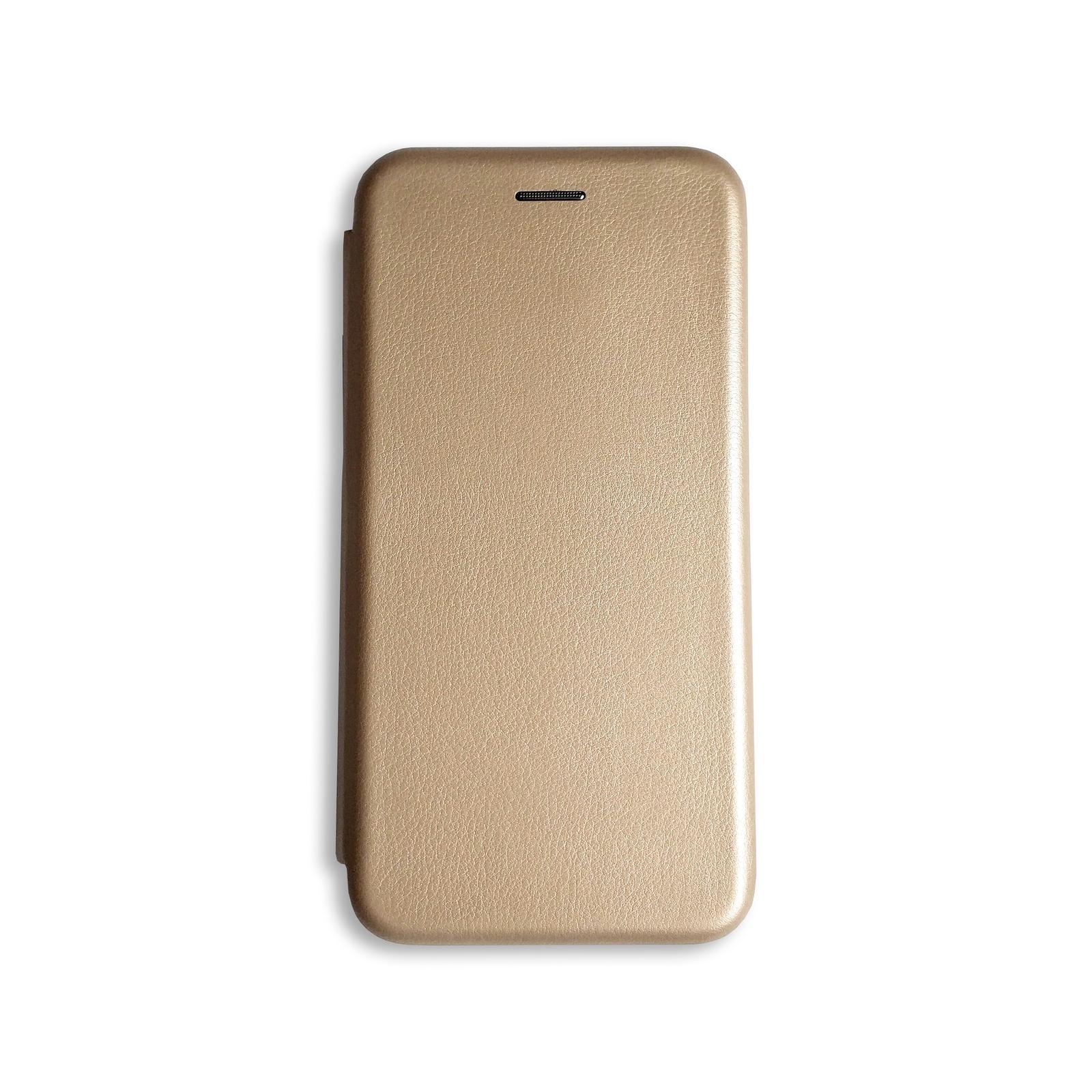 Чехол для сотового телефона книжка для Samsung Galaxy J6+ (2018), золотой