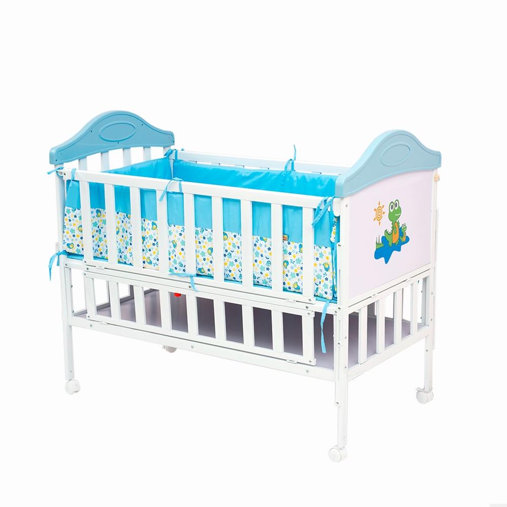 Манеж-кроватка Babyhit SLEEPY голубой