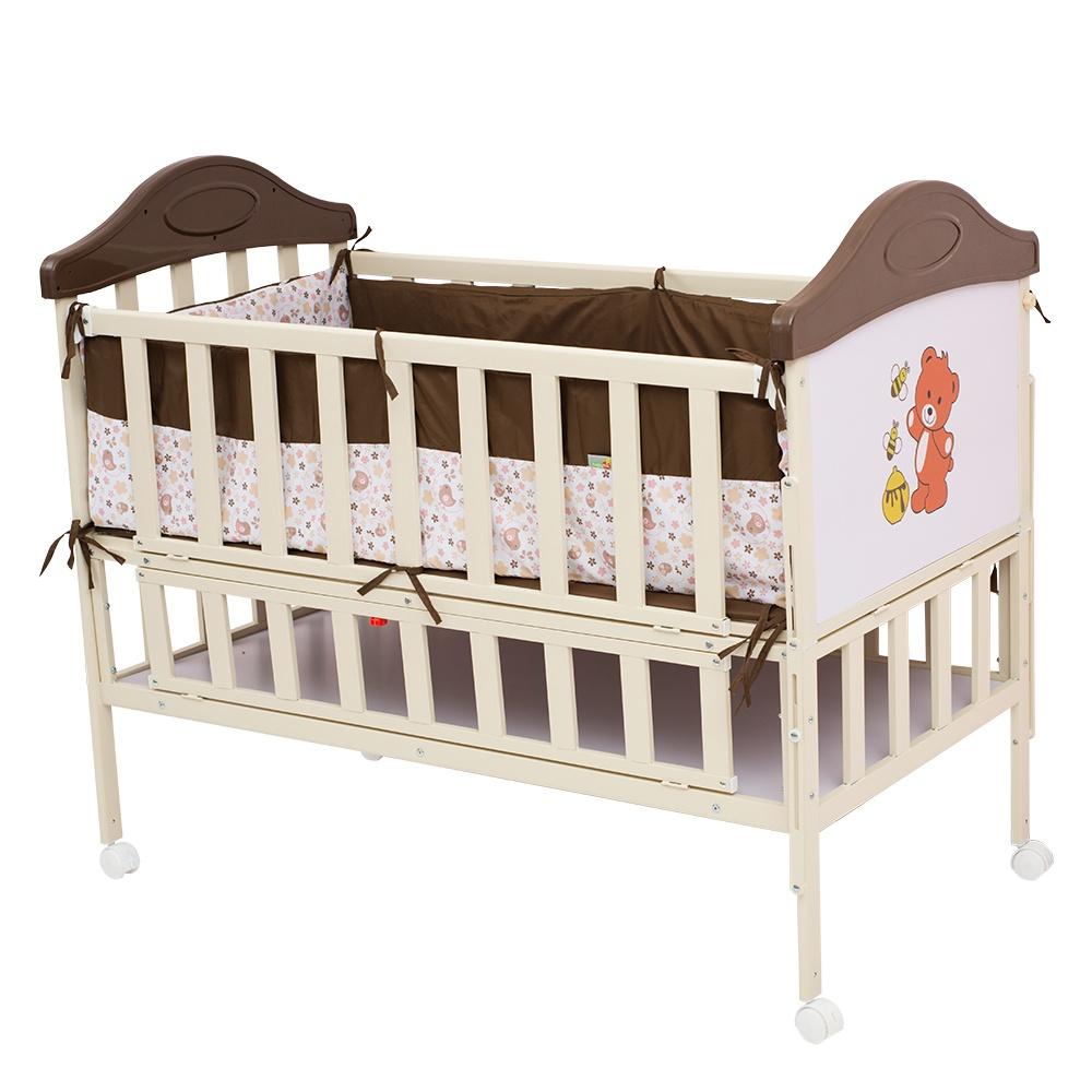 Манеж-кроватка Babyhit SLEEPY коричневый