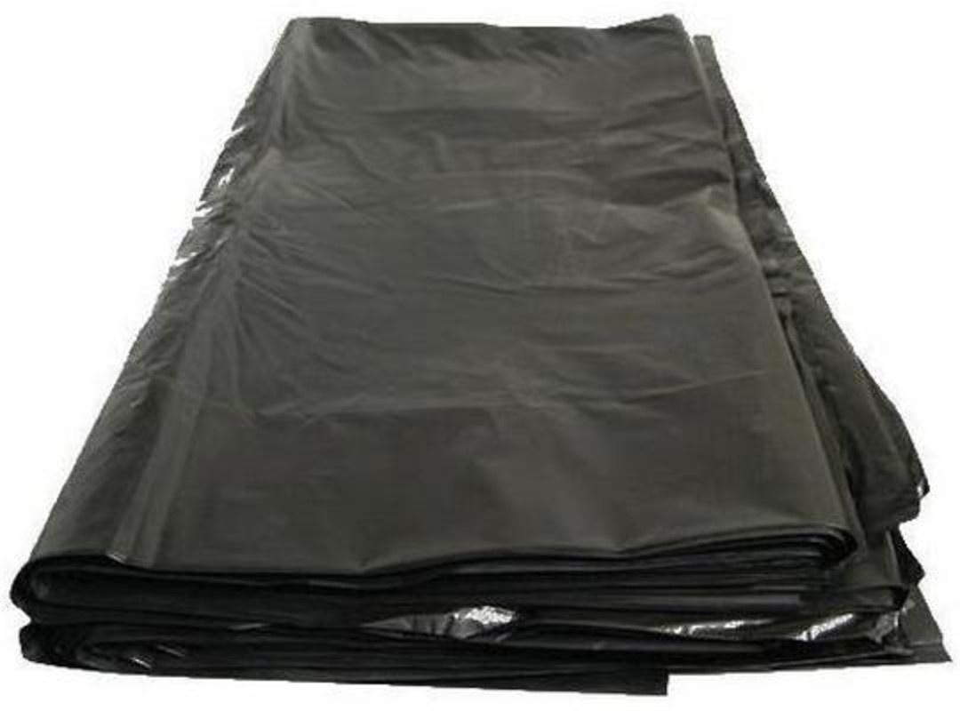 Мешки для мусора Капио ПВД 120л 70х110 чёрные особо прочные 200 штук, черный