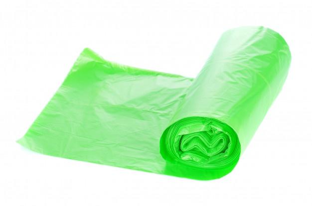 <b>Мешки для мусора Капио</b> в рулоне ПВД 120л 70х110 зеленые ...