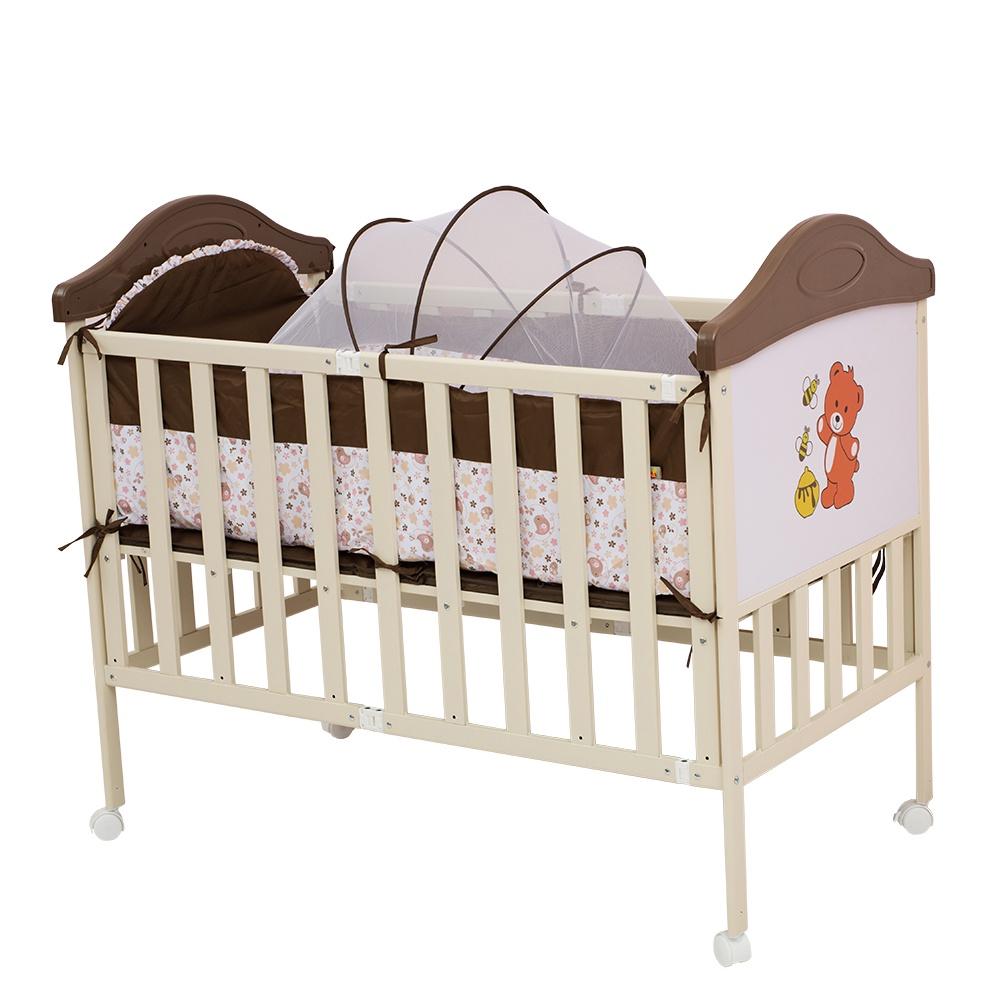 Манеж-кроватка Babyhit SLEEPY COMPACT коричневый цена и фото