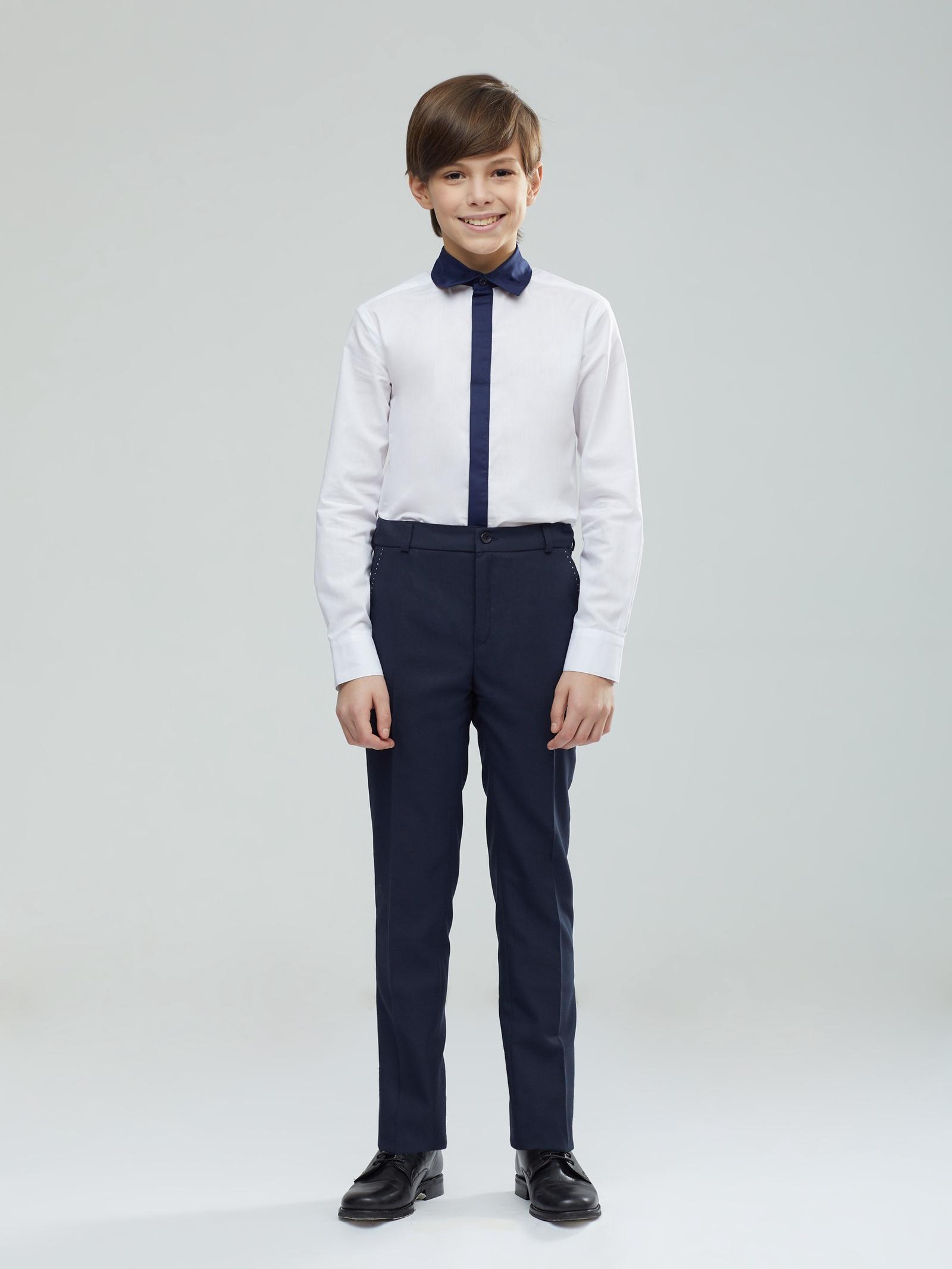 Брюки Смена брюки для мальчика смена цвет серый 16с91 размер 170 176