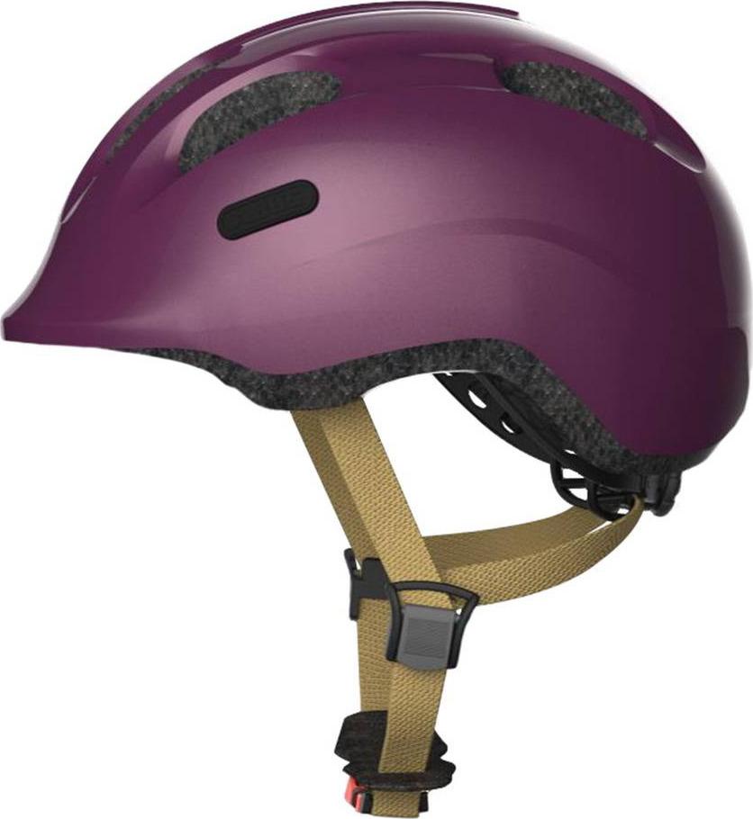 Шлем защитный Abus Smiley 2.0 Royal, фуксия, размер M велошлем детский abus smiley пчелы размер m 50 55