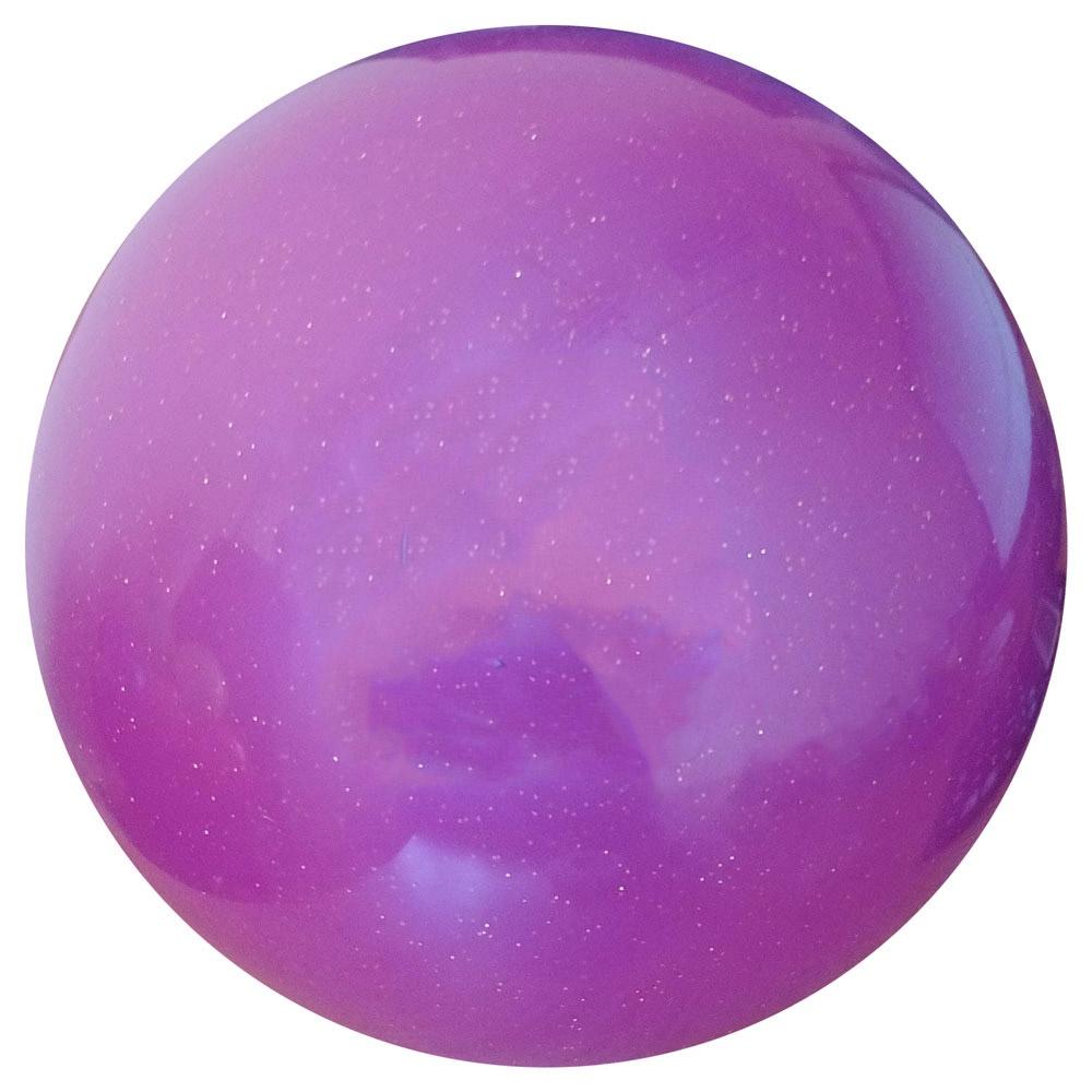 Мяч для художественной гимнастики T07574 с блестками мяч для художественной гимнастики indigo силиконовый цвет разноцветный диаметр 15 см
