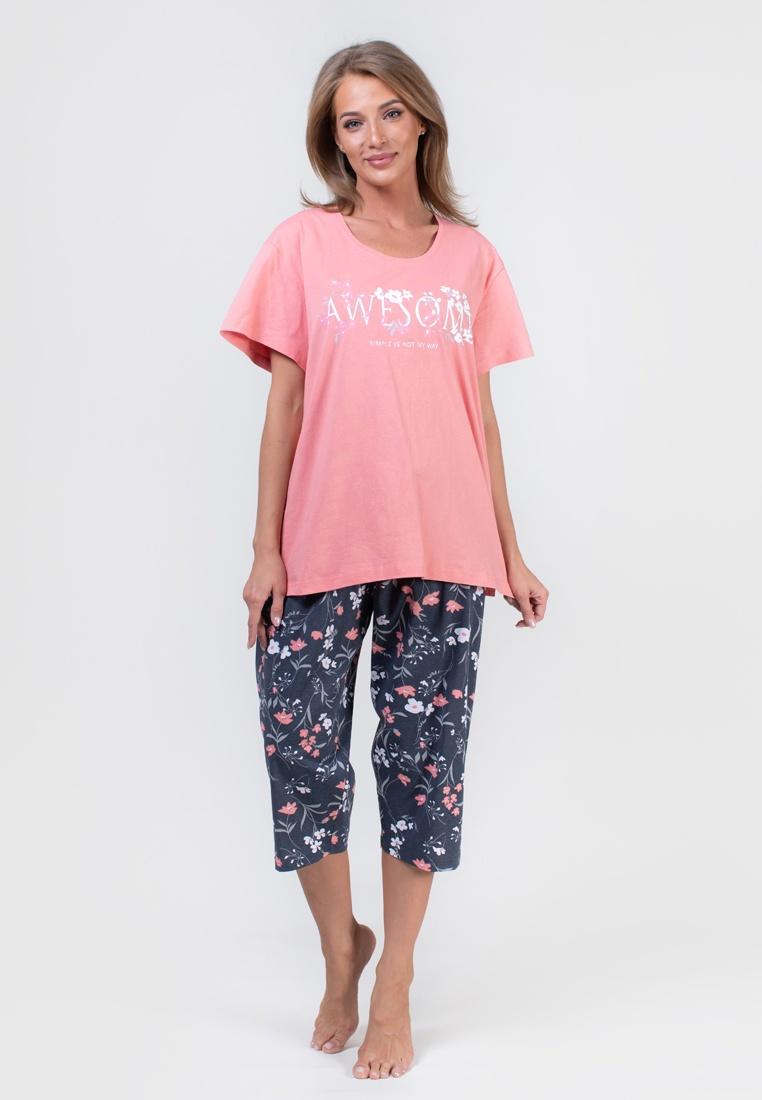 Фото - Домашний комплект домашний комплект женский vienetta pink сова халат туника цвет бежевый 803113 5039 размер s 44