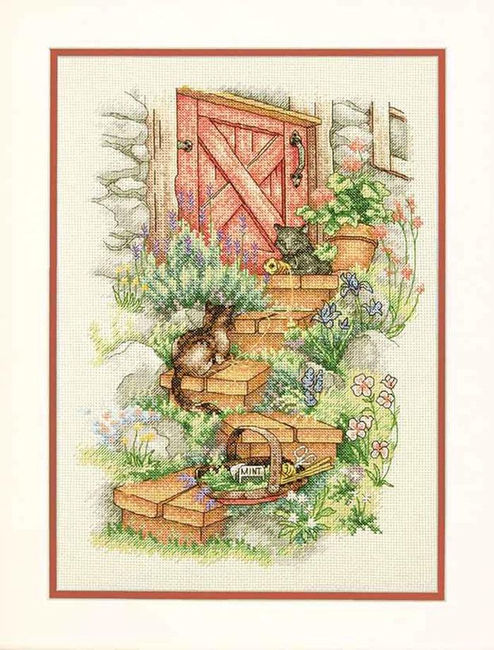 Набор для вышивания Dimensions Garden Steps 7183 dms dimensions dimensions