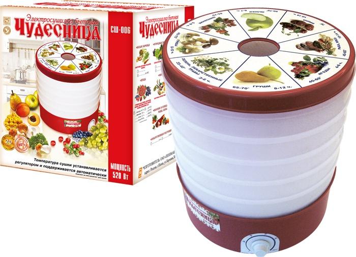 Сушилка для салата/овощей/фруктов/ягод Чудесница СШ-006