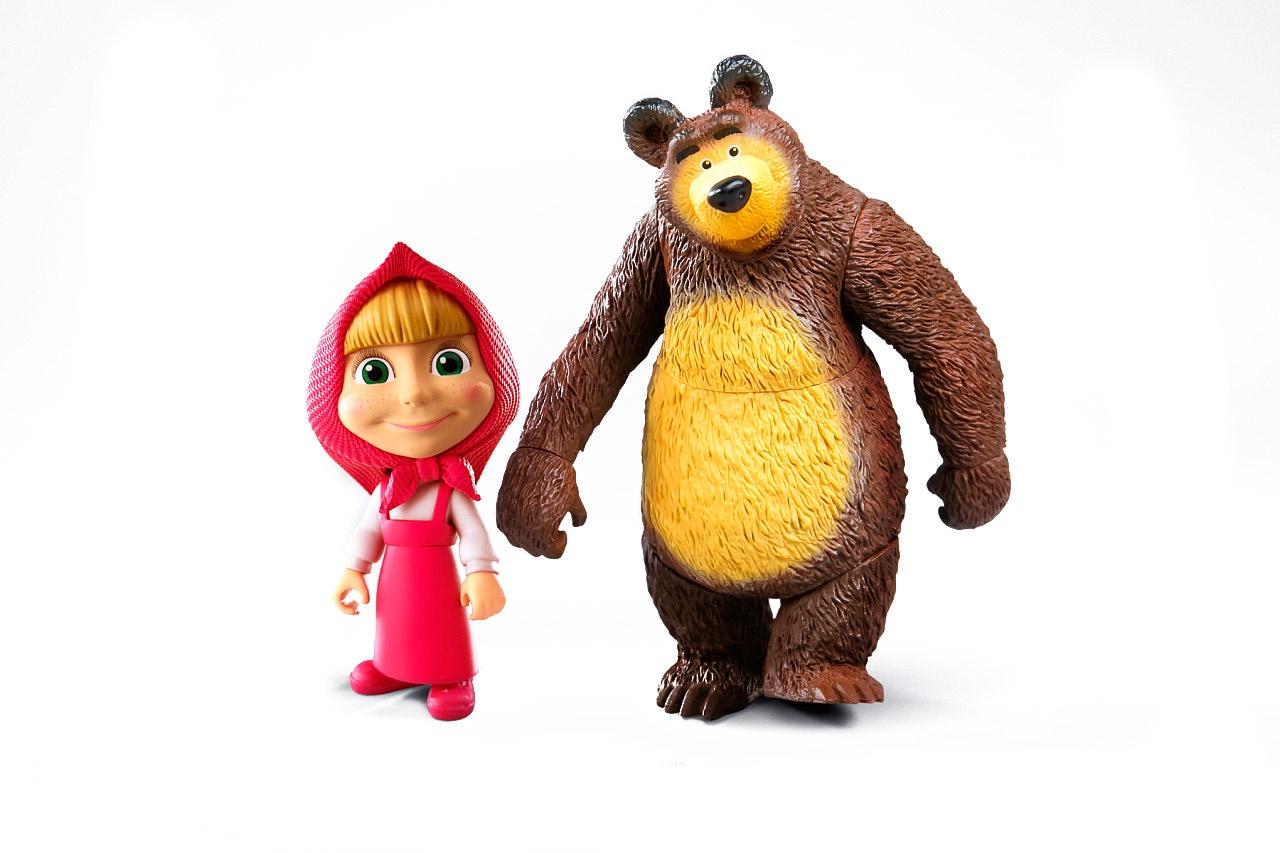 Фигурка PROSTO toys Маша и Медведь (набор) музыкальные игрушки маша и медведь набор музыкальных инструментов gt5844