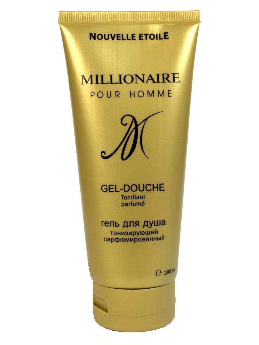 Гель для душа Новая заря тонизирующий Миллионер Millionaire 200 мл