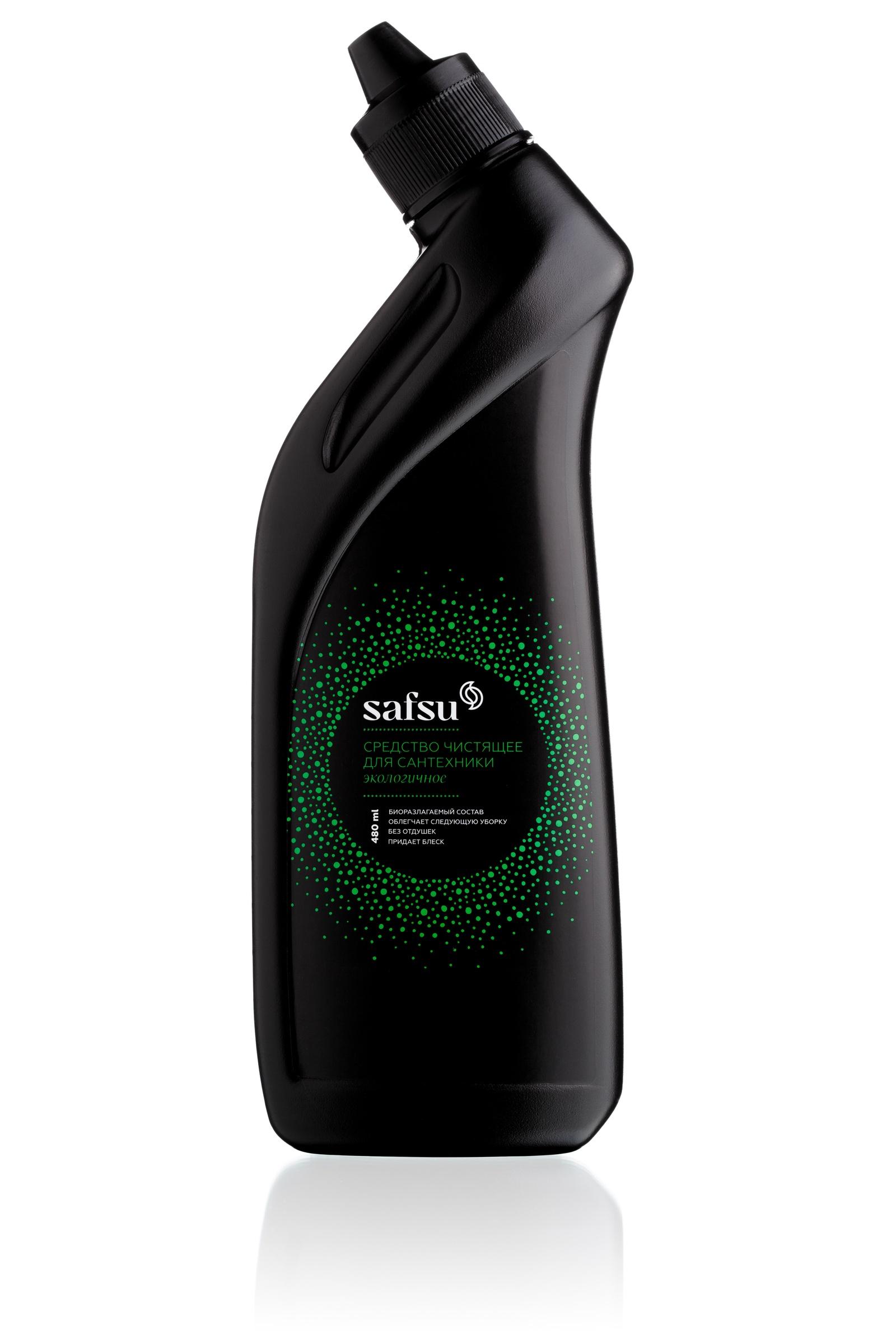 Универсальное чистящее средство safsu для сантехники 480 мл glorix чистящее средство для пола деликатные поверхности 1л