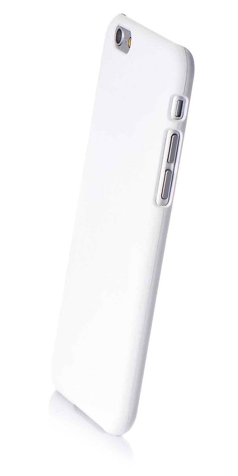 """Чехол для сотового телефона iNeez накладка пластик soft touch открытый 580044 для Apple iPhone 6/6S 4.7"""", белый"""