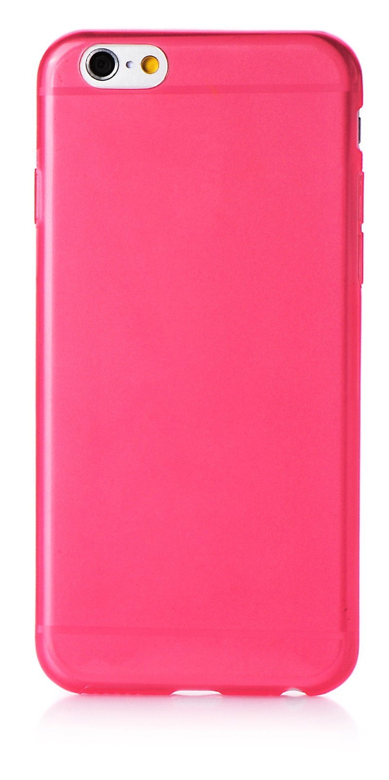 "Чехол для сотового телефона iNeez накладка силикон 0.3 mm глянцевый 620070 для Apple iPhone 6 Plus/6S Plus 5.5"", розовый"