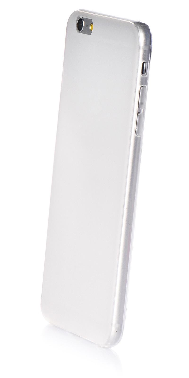 """Чехол для сотового телефона iNeez накладка силикон 0.3 mm матовый 620072 для Apple iPhone 6 Plus/6S Plus 5.5"""", белый"""