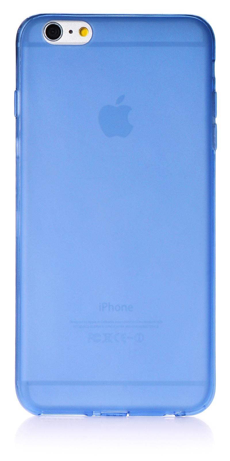 """Чехол для сотового телефона iNeez накладка силикон 0.3 mm матовый 620104 для Apple iPhone 6 Plus/6S Plus 5.5"""", голубой"""