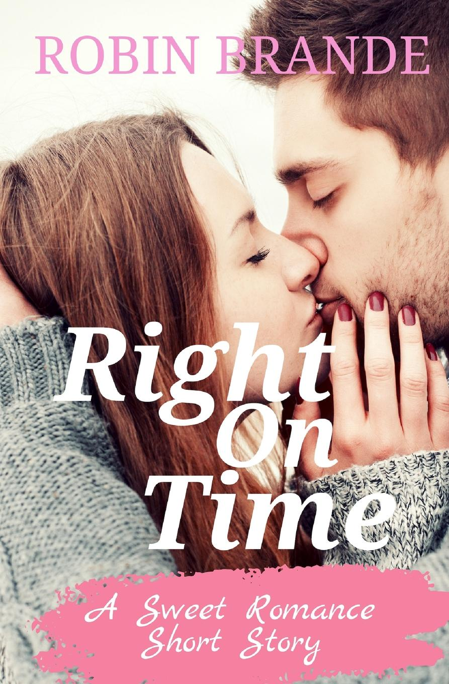 Robin Brande Right On Time. A Sweet Romance Short Story set wonders in the new year s plaid