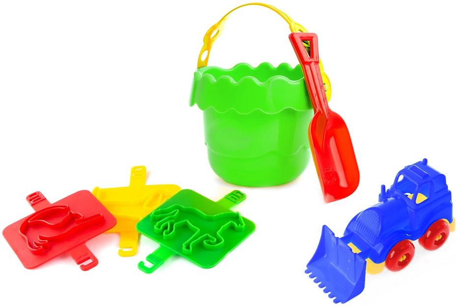 Игрушка для песочницы Пластмастер 70172 песочный набор пластмастер зверюшки 70017