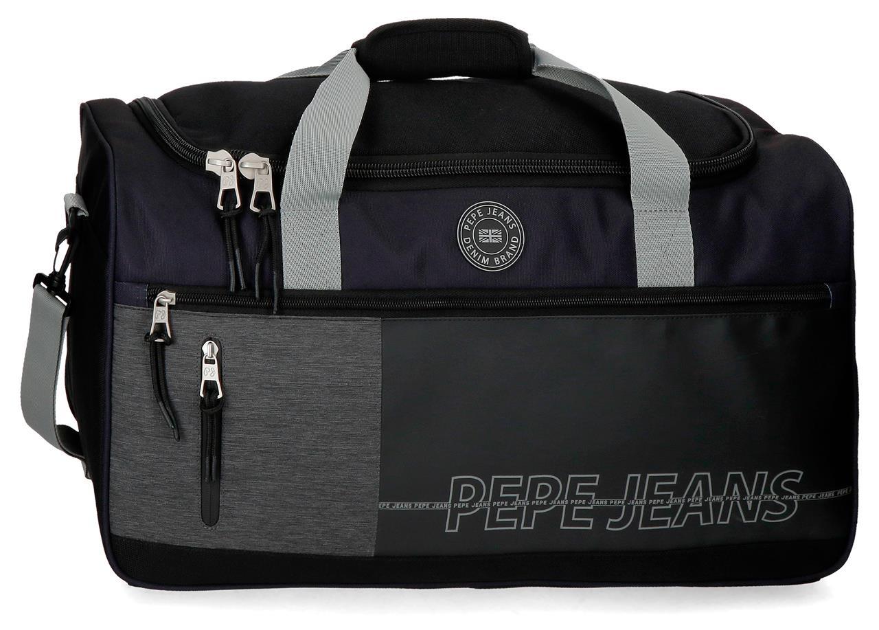 цена Сумка спортивная Pepe Jeans 6343661, черный онлайн в 2017 году