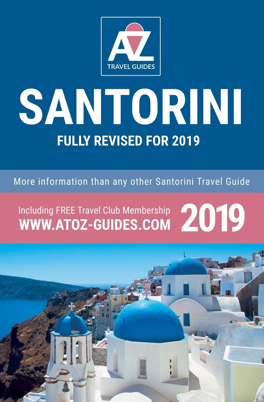 Tony Oswin A to Z guide to Santorini 2019