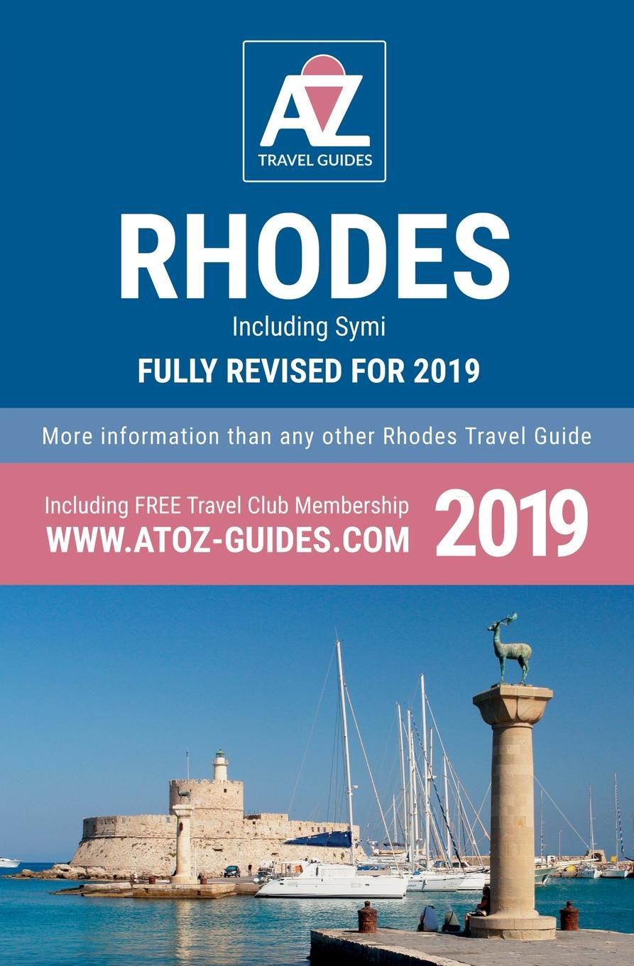 Tony Oswin A to Z guide to Rhodes 2019, Including Symi