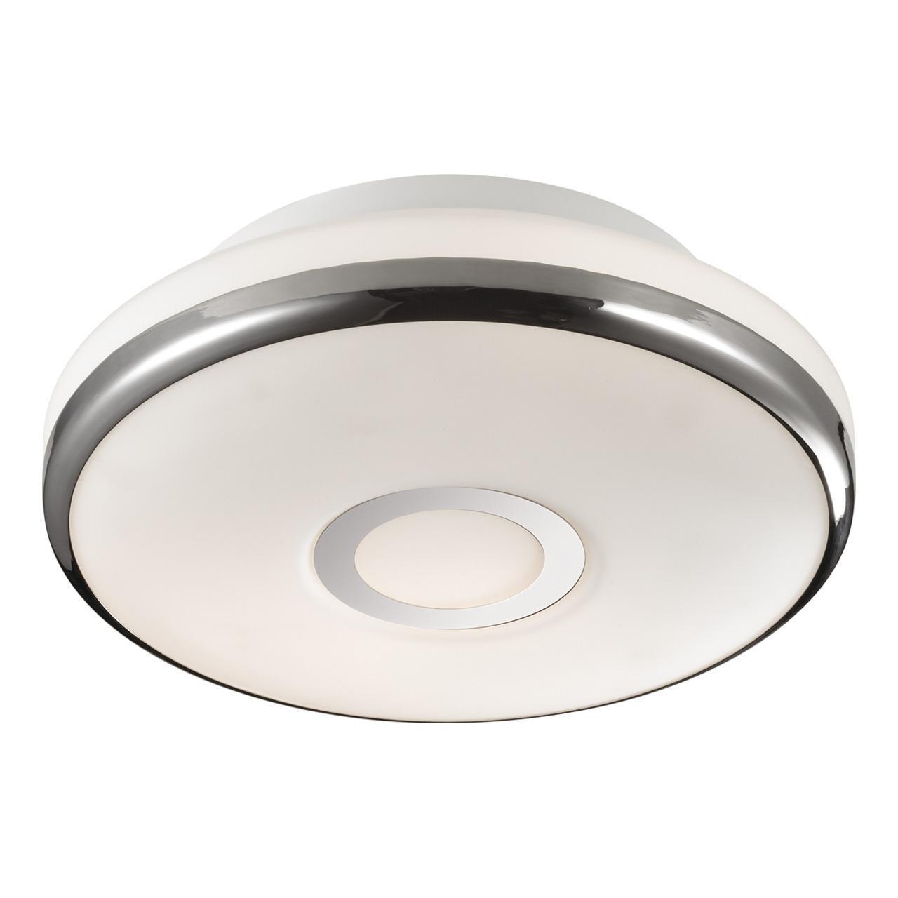 Потолочный светильник Odeon Light 2401/1C, белый потолочный светильник odeon 2401 3c