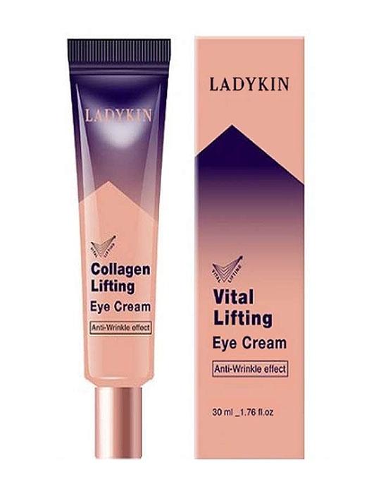Крем для век с коллагеном  LadyKin Collagen Lifting Eye Cream LadyKin
