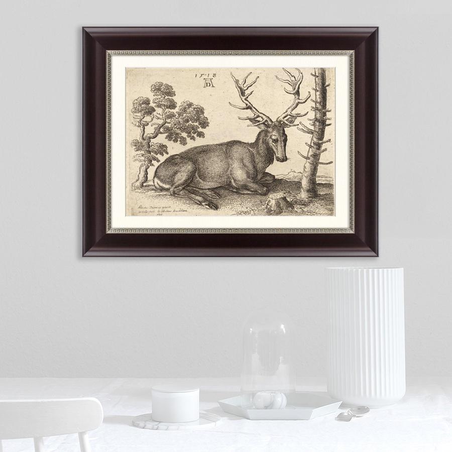 Картина Картины В Квартиру Олень №1, 1518г, Бумага цена