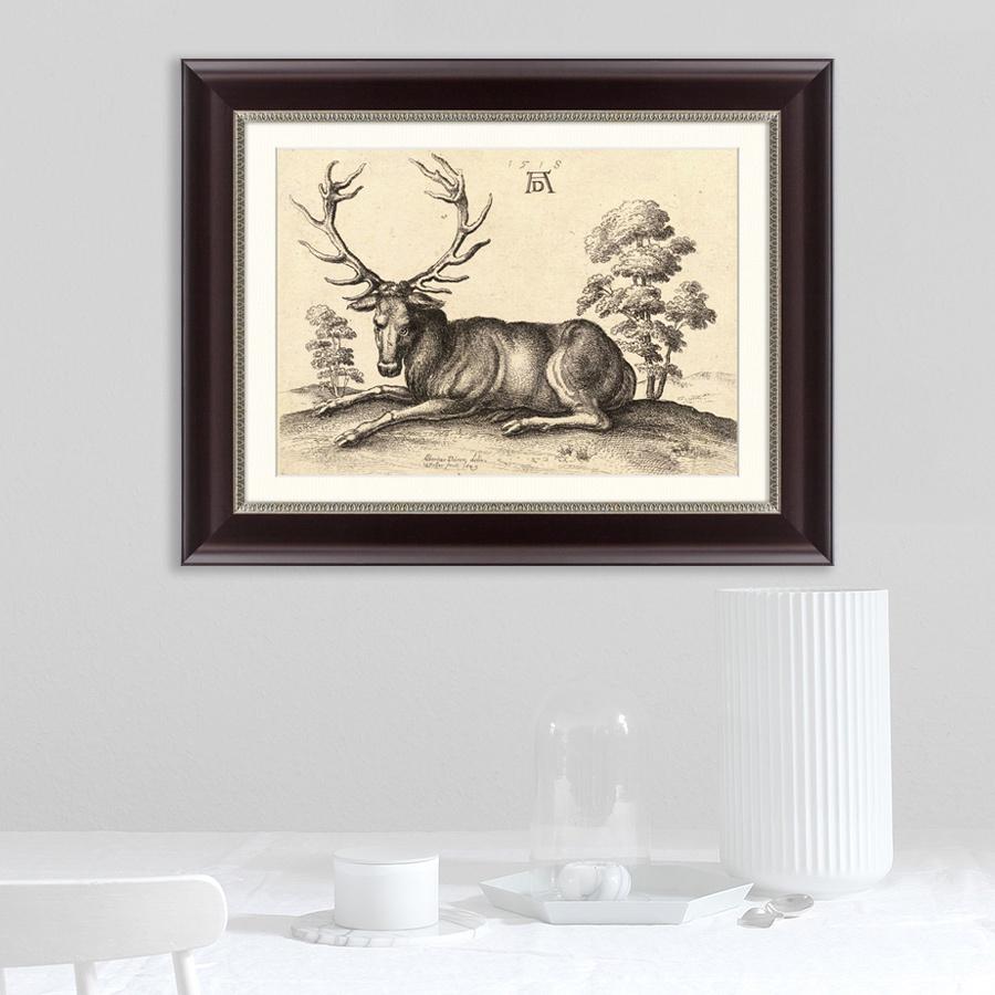 Картина Картины В Квартиру Олень №2, 1518г, Бумага цена
