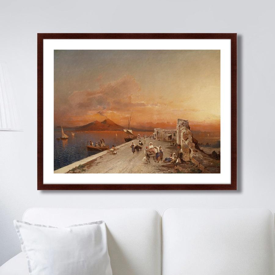 Картина Картины В Квартиру Терпкий закат, 1895г., Бумага цена