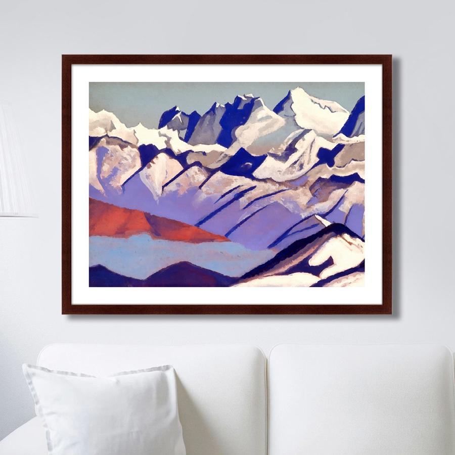 Картина Картины В Квартиру Эверест, 1936г., Бумага картины постеры гобелены панно картины в квартиру картина бесконечность линий 35х35 см