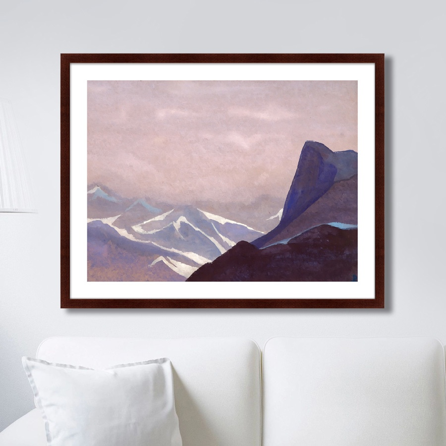 Картина Картины В Квартиру Перевал Сугет, 1936г., Бумага картины постеры гобелены панно картины в квартиру картина бесконечность линий 35х35 см