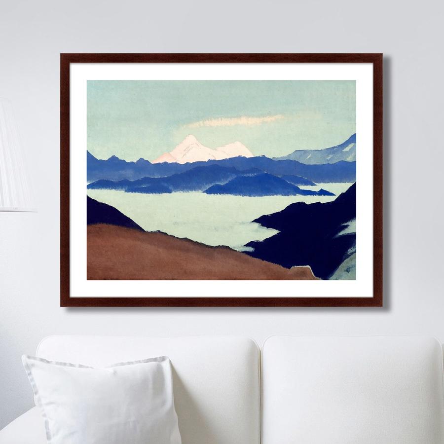 Картина Картины В Квартиру Священные Гималаи II, Бумага